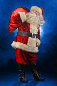 Im Sack des Nikolaus lässt sich das Geldgeschenk sehr originell verstecken.