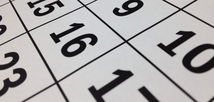 Kalender, der rückwärts zählt: über die Ungeduld in der Schwangerschaft