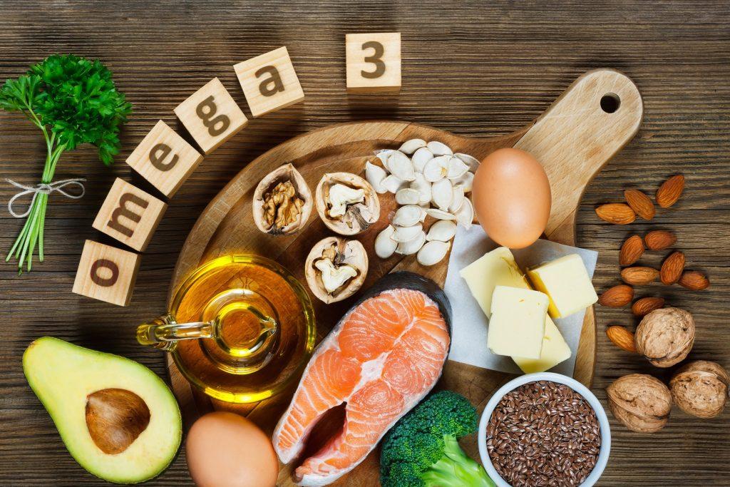 Es gibt ganz viel Lebensmittel mit denen man sich und das Baby mit guten Omega-3 Fettsäuren versorgen kann