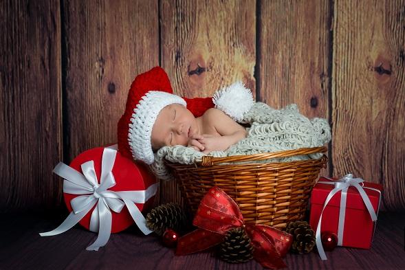 In erster Linie ist es für süße Babyfotos wichtig, dass sich das Baby wohlfühlt.