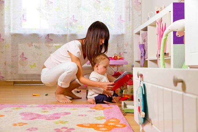 Tagesmütter betreuen Kinder egal wie sie sind. Da können auch Babys dabei sein.
