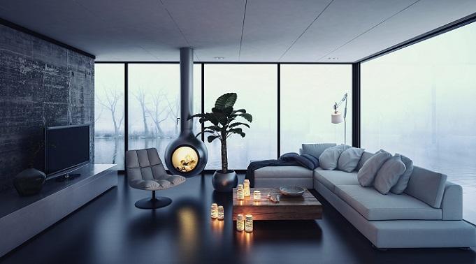 Durch die individuelle Beleuchtung bekommt das Zimmer einen ganz persönlichen Charakter, der durch die moderne Wandgestaltung noch einmal unterstrichen wird. (#16)