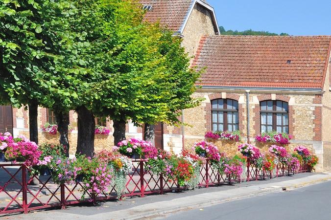 Zum Verlieben schön: Ville-Fleurie, das Blumenstädtchen Biscarosse (#1)