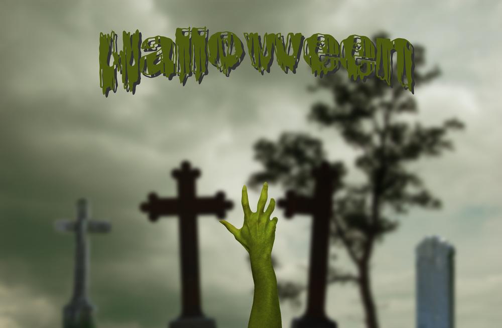 Passend zu der dunklen Jahreszeit glaubten die Menschen von damals, dass an Halloween die Toten wieder auf die Erde zurückkehren und die Lebenden heimsuchen könnten.(#02)