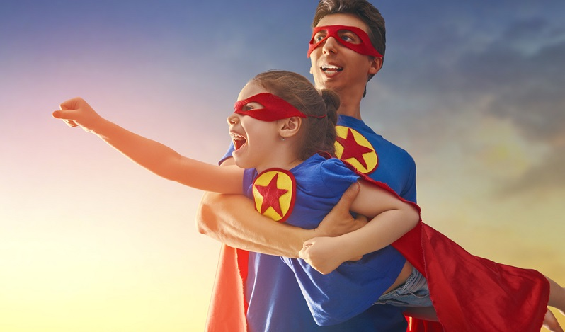 Superhelden aus den Comics von Marvel und DC sind heute im Karneval nicht mehr wegzudenken. (#04)