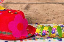 Karnevalsmütze: Narrenkappen selbst gemacht