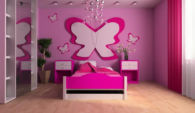 Wenn Sie das Kinderzimmer dekorieren, achten Sie auf den Lichteinfall. (#05)