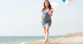 Späte Schwangerschaft: Vor- und Nachteile